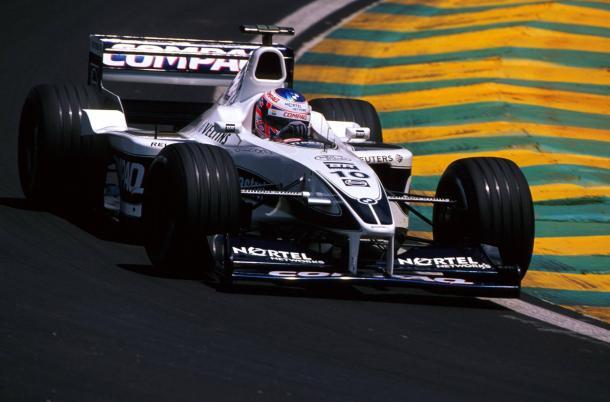 Jenson Button in azione con la Williams nel 2000 (foto: da web)