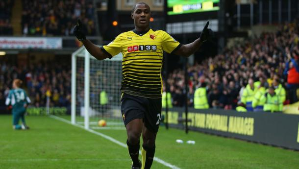 Odion Ighalo will be looking to find form against Newcastle this weekend.