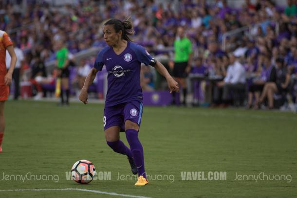 Each week, Marta provides the Orlando Pride an offensive flair | Photo: Jenny Chuang - VAVEL USA
