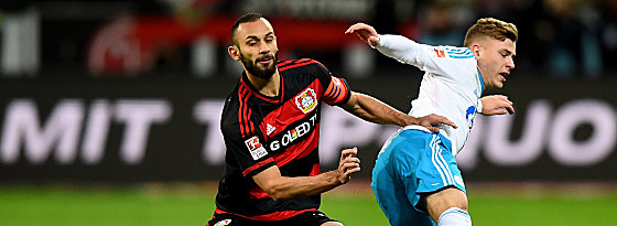 It was a hard fought battle between two Champions League hopefuls. (Image credit: Kicker)