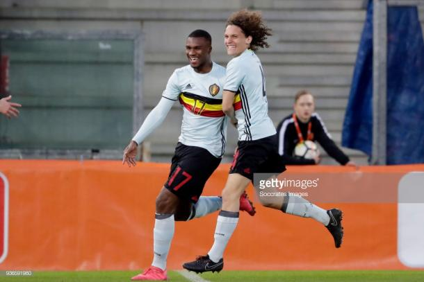 Oulare is a Belgium youth international. Source | Getty Images.