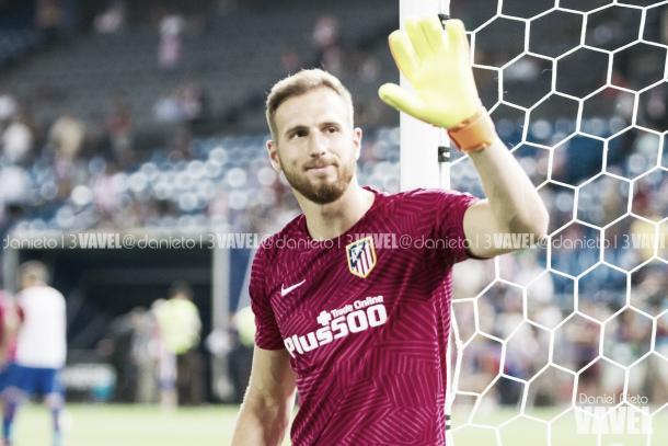 Jan Oblak, zamora de La Liga las últimas dos temporada   Foto: Daniel Nieto - VAVEL