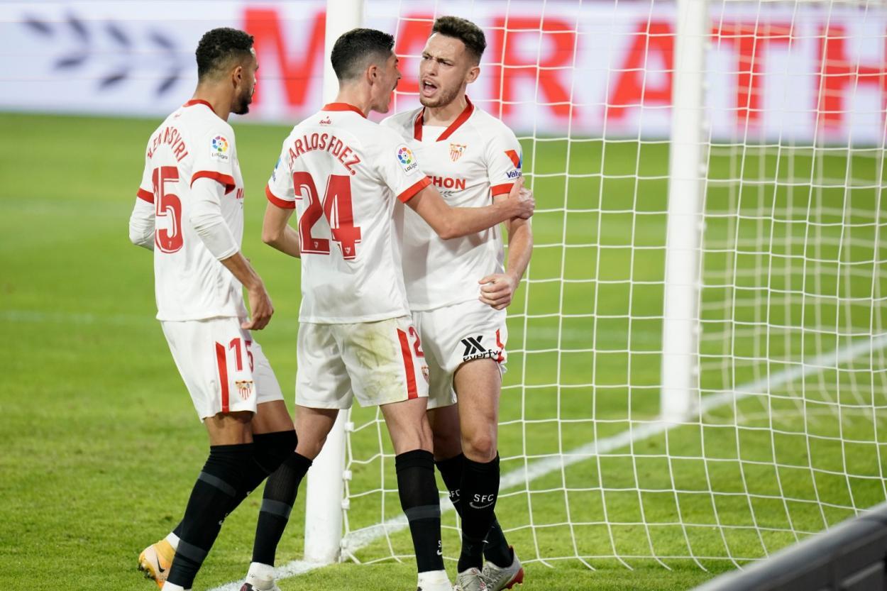 Ocampos es uno de los jugadores más importantes del equipo: sevillafc.es