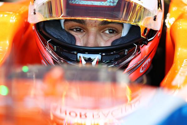 Esteban Ocon, uma das novidades para a segunda metade da temporada; o francês é o novo piloto da Manor (Foto: Mark Thompson/Getty Images)