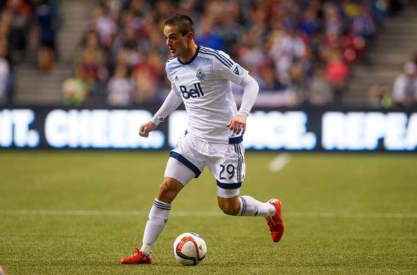 Whitecaps forward Octavio Rivero. Photo Credit: Rich Lam / Getty Images Sport