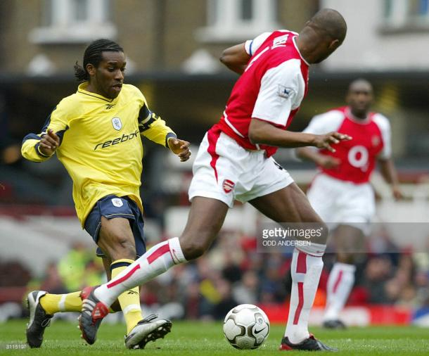 Okocha played in the premier league for Bolton between 2002 and 2006. Photo: Getty Images: Odd Andersen