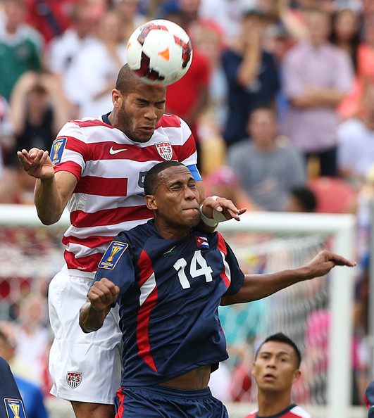 Onyewu in action against Cuba at the 2013 CONCACAF Gold Cup Image Courtesy of George Frey/Getty Images North America