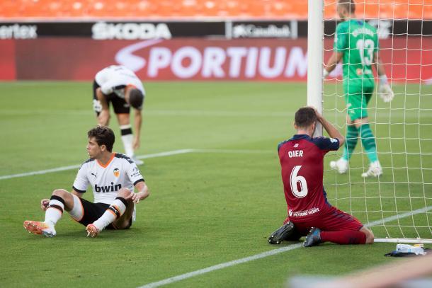 Oier Sanjurjo ante el FC Barcelona | Fuente: Osasuna