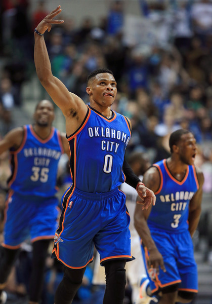 OKC's electric lineup is ready for a deep run this postseason | Photo: Tom Pennington/Getty Images