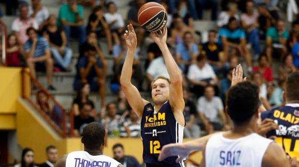 Oleson, amenaza ofensiva de UCAM Murcia. | Foto: FIBA