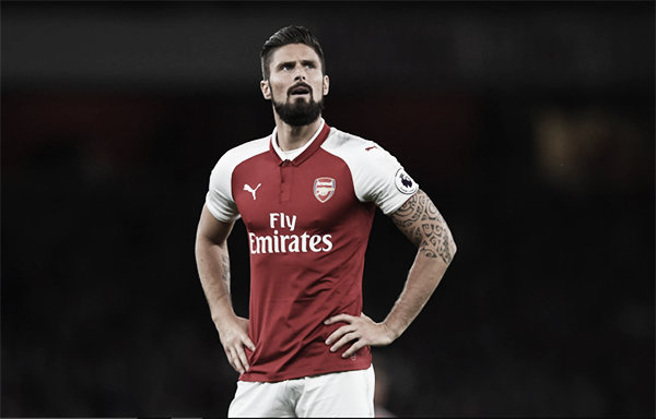 Olivier Giroud buscará estrenarse en la Europa League   Foto: Arsenal