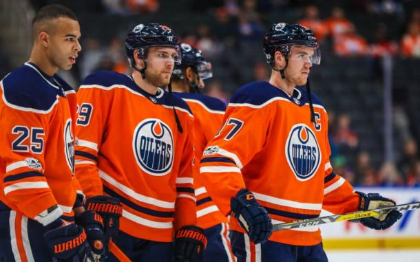 The Edmonton Oilers will have lots of explaining to do when they don't make the playoffs. (Photo: The Athletic)
