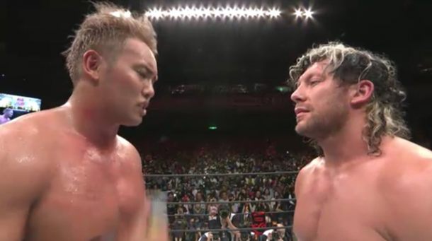 Omega vs Okada contributed to their high rankings in the PWI 500 list (image: wrestlingnewsworld)