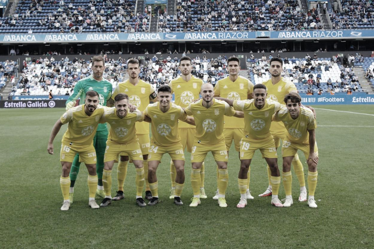 Once del CD Badajoz frente al Deportivo de la Coruña// Foto: CD Badajoz