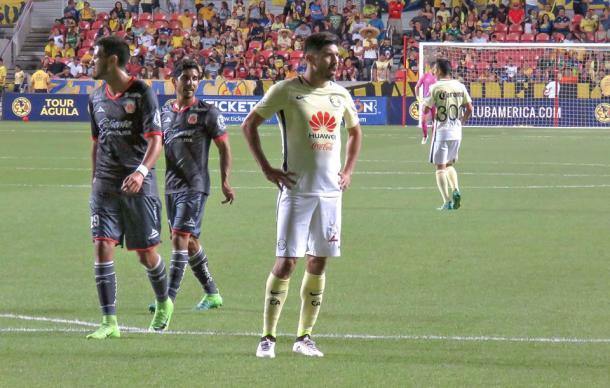 Oribe Peralta reapareció ante Morelia | Foto: Club América
