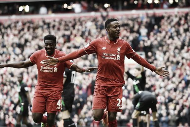 Origi quickly became very popular with Liverpool fans after some good displays. (Echo)