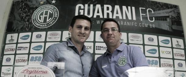 Osmar Loss anunciado no final do ano (Foto: Divulgação/Guarani FC)