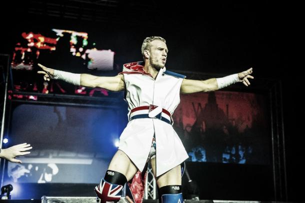 Ospreay has had the wrestling world talking. Photo- Sports Illustrated