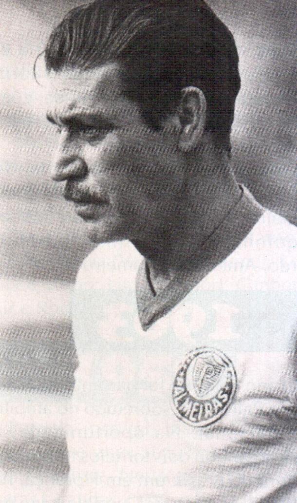 Oswaldo Brandão em sua época de Palmeiras (Foto: Divulgação/SE Palmeiras)