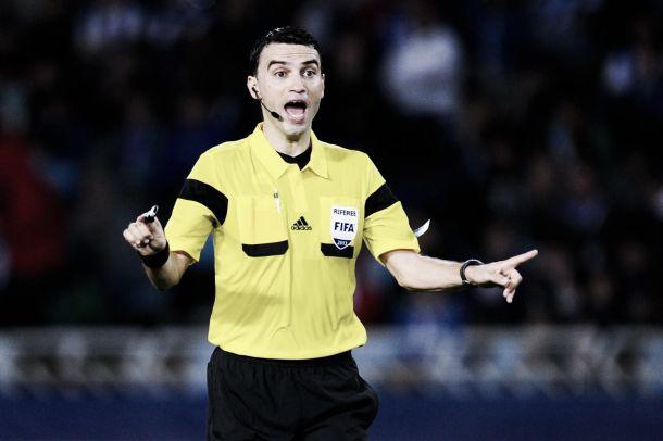 Ovidu Hategan, árbitro para el Dortmund - Barcelona   Foto: uefa.com