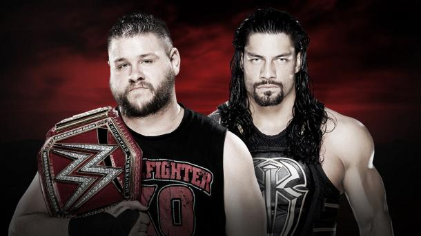Owens and Reign face off for what feels like the millionth time. Photo: WWE.com