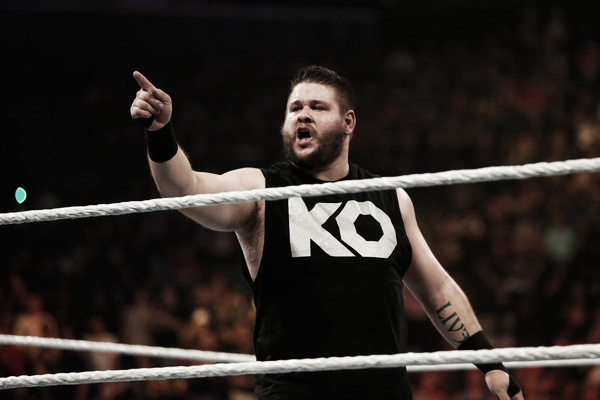 Kevin Owens, known as Kevin Steen before arriving in the WWE (Photo: JP Yim/Getty Images North America)