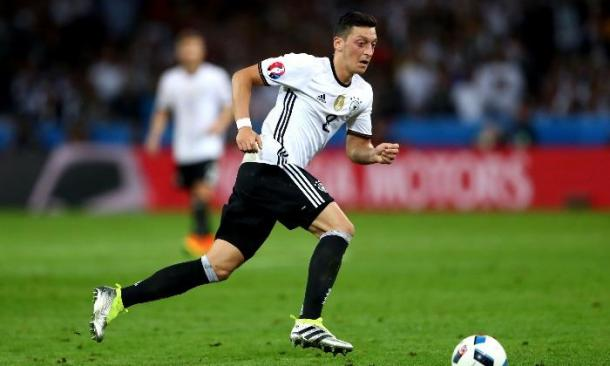 Mesut Ozil's Germany reached the semi-finals. | Photo Source: Getty Images.