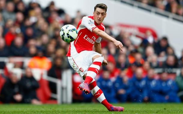 Mesut Ozil has been Arsenal's star this season