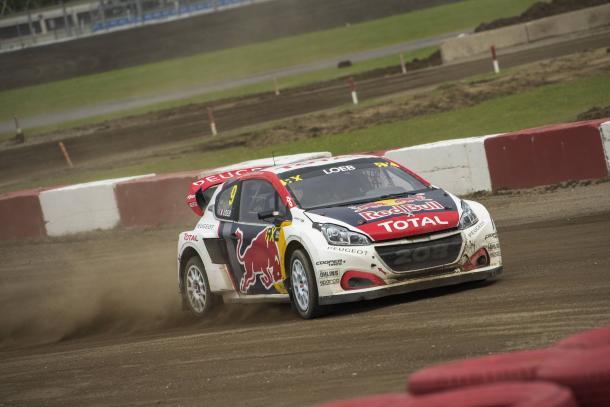 Loeb en el WRX // Foto: Red Bull