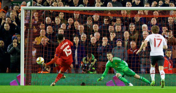 Sturridge opened the scoring for Liverpool at Anfield last week | Photo: Getty Images