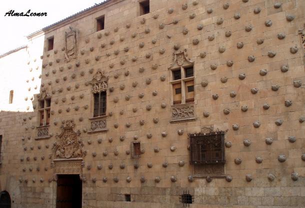 Casa de las Conchas (Imagen: AlmaLeonor, de Vavel)