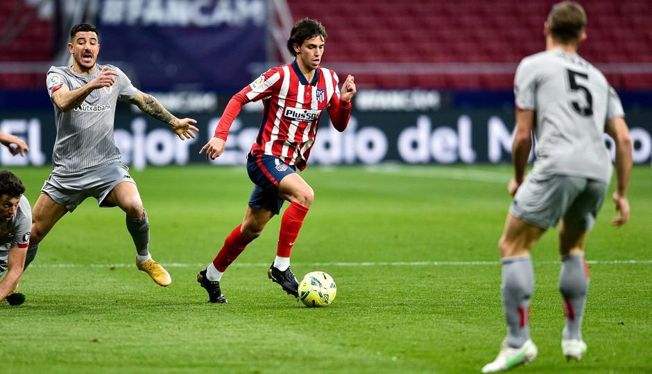 Joao Félix frente al Athletic Club. Fuente: Atlético de Madrid.