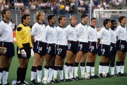 Once inicial de la selección inglesa que disputó la semifinal contra Alemania Federal. (Foto: FIFA.com).