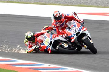 Has this mistake cost Dovizioso more than he thought? | Photo: Crash.net