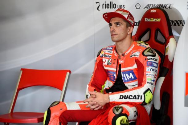 Ducati rider Andrea Iannone is in trouble - www.crash.net