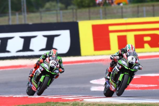 Tom Sykes y Jonathan Rea están pasando por la mejor etapa de Kawasaki