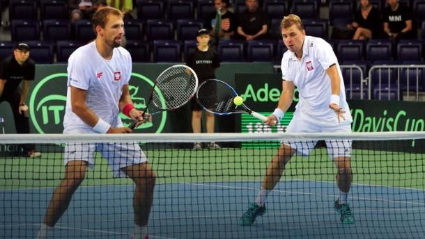 Lukasz Kubot (left) and Marcin Matkowski are the top seeds in Montpellier (Photo: PAP)