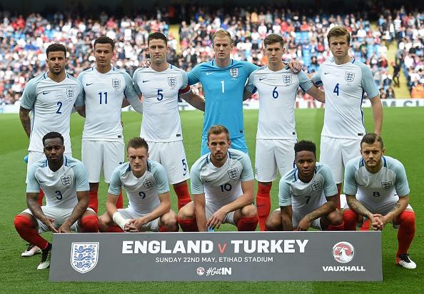 Inglaterra quer conquistar primeiro título da Eurocopa em sua história (Foto: Paul Ellis/AFP/Getty Images)