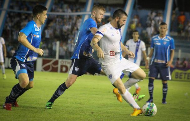 Derrota em Belém foi a terceira seguida do Leão (Foto: Fernando Torres/Paysandu SC)