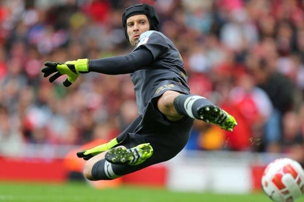 Cech is hoping Arsenal can pick up their form, and fast. | Image source: The Times