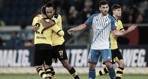 Can BVB cope without Aubameyang?   Image: Borussia Dortmund