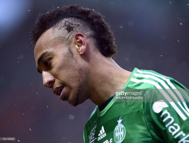 Pierre-Emerick Aubameyang was a star for Sainté. Source - Getty Images/Philippe Desmazes.