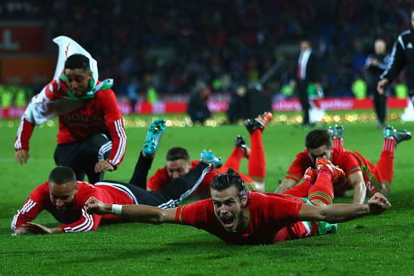 Bale leads the celebrations in Andorra | Photo: Michael Steele/Getty Images Sport