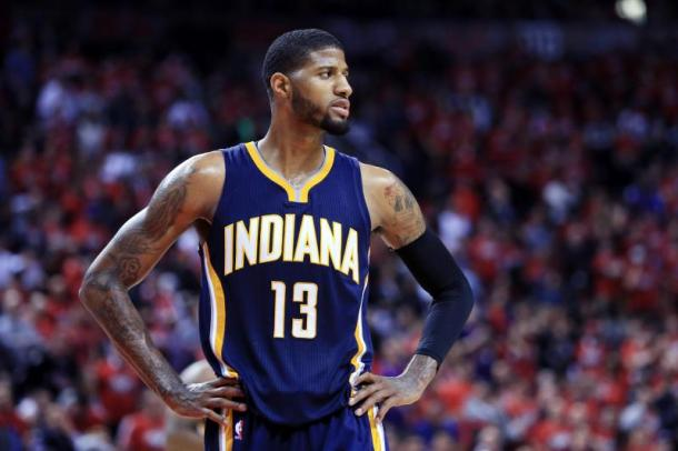 If George remains as a Pacer then he will likely get a max-deal. Photo: Vaughn Ridley/Getty Images
