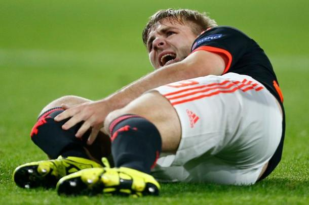 Shaw suffered the horrific injury against PSV in September | Photo: Getty