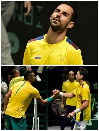 Santiago Giraldo y Alejandro González, los tenistas de Colombia mejor ranqueados con menos victorias en 2019. Imagen: fotomontaje