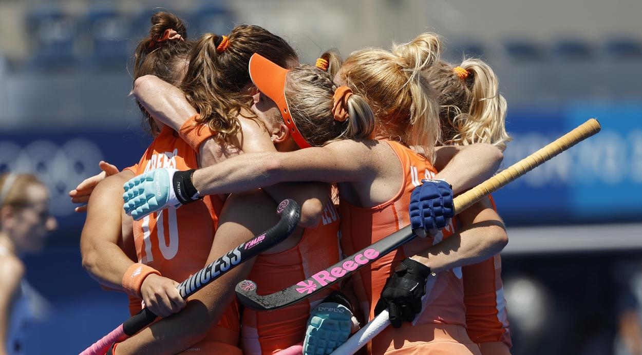 Netherlands women's field hockey at the Olympic Games // Source: Netherlands Hockey National Team