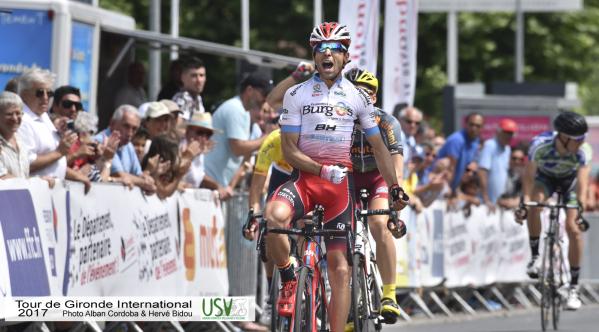 Pablo Torres se llevó etapa y general en el Tour de Gironde | Foto: Tour de Gironde