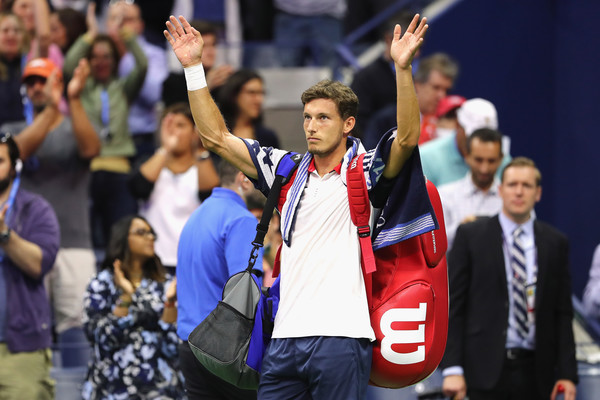 Pablo Carreno Busta walks off Arthur Ashe Stadium after his semifinal loss at the US Open | Photo: Elsa/Getty Images North America