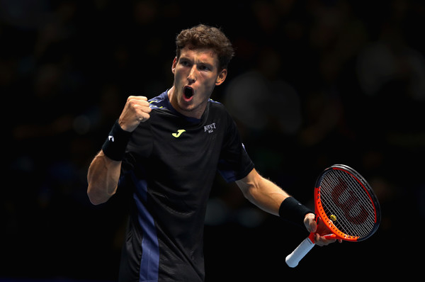 Pablo Carreno Busta made his debut at the Nitto ATP World Tour Finals as an alternate | Photo: Clive Brunskill/Getty Images Europe